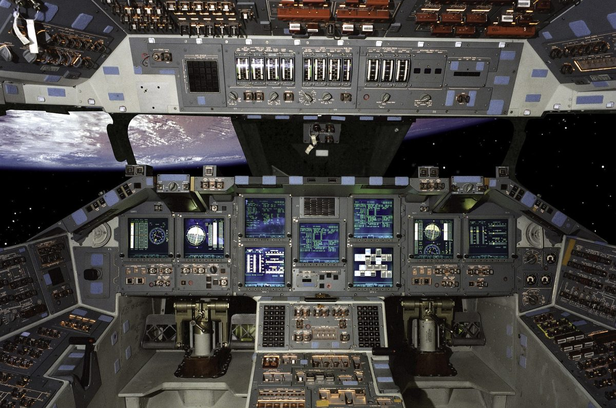 Space Shuttle Control Panel